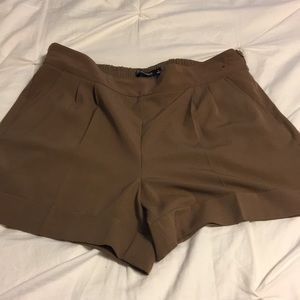 New York and Company Brown Shorts